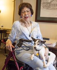 a_senior_and_her_dog_in_assisted_living_houston_tx