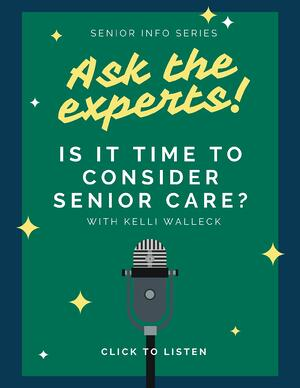 Is it time to consider senior care?