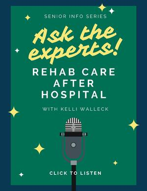 Rehab care after hospital