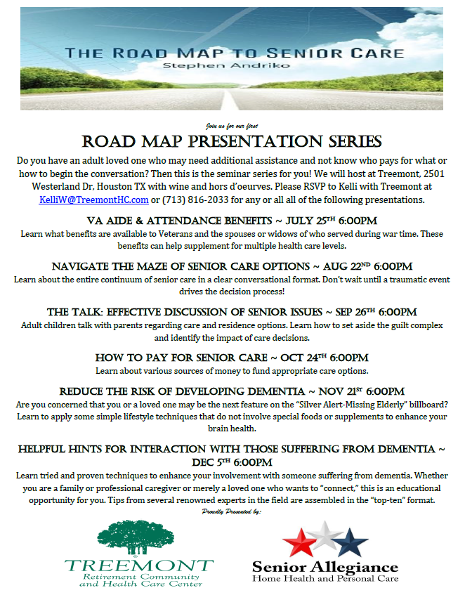 Road Map Speaker Series