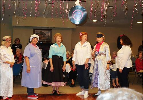 Assisted_Living_in_Houston_activities_Sock_Hop_females