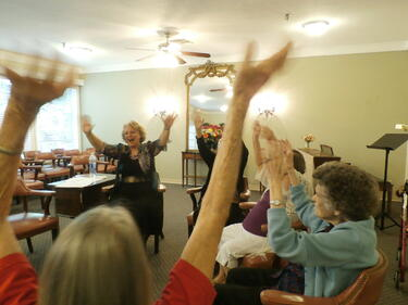 Laughter Yoga assisted living in houston